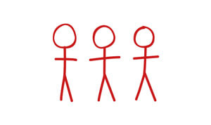 Icon of stick men representing the Red-Inc account team