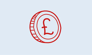 Cost saving icon