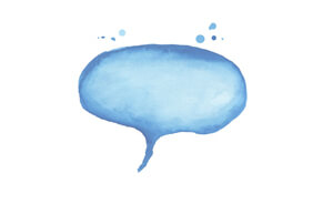 Contact us speech bubble icon